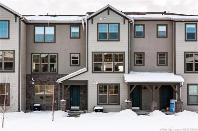 Heber City Condo/Townhouse For Sale: 13794 N Wasatch Springs Lane #L4