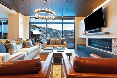 Park City UT Condo/Townhouse For Sale: $3,499,000