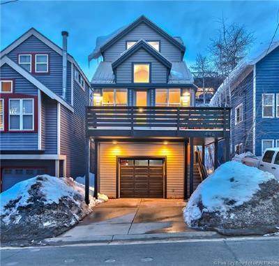 Park City Single Family Home For Sale: 446 Marsac Avenue