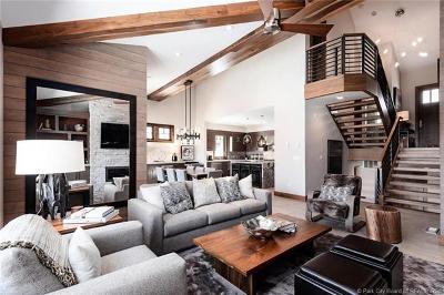 Park City UT Single Family Home For Sale: $3,850,000