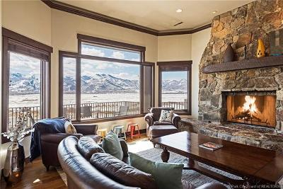 Park City Single Family Home For Sale: 6090 Old Ranch Road