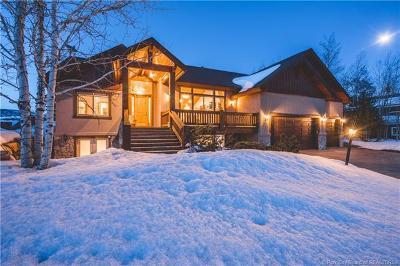 Park City Single Family Home For Sale: 3550 W Wrangler Way