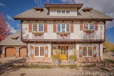 Midway Single Family Home For Sale: 725 N Homestead Drive