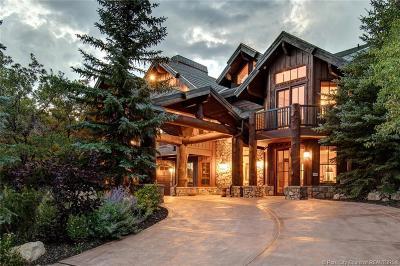 Park City UT Single Family Home For Sale: $2,995,000