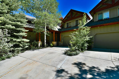 Park City Condo/Townhouse For Sale: 1386 W Meadow Loop Road