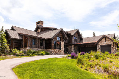Park City Single Family Home For Sale: 8035 Glenwild Drive