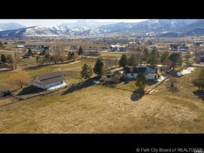 Midway Single Family Home For Sale: 579 S Center