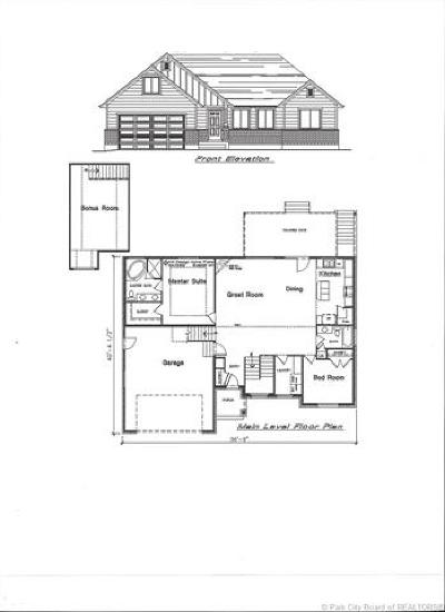Wanship, Hoytsville, Coalville, Echo, Henefer Single Family Home For Sale: 110 N 425 East