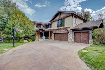 Park City Single Family Home For Sale: 1176 Cottonwood Lane
