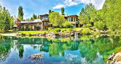 Park City UT Single Family Home For Sale: $5,990,000