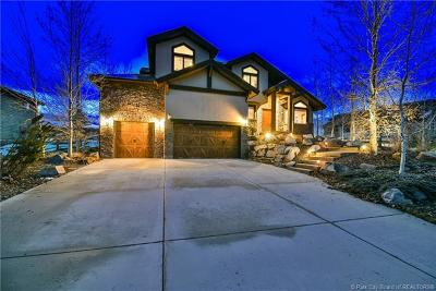 Park City UT Single Family Home For Sale: $1,475,000