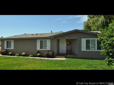 Heber City Single Family Home For Sale: 465 N 200