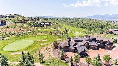 Park City UT Single Family Home For Sale: $4,600,000