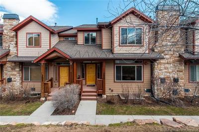 Park City Condo/Townhouse For Sale: 5600 N Olso Lane #T132