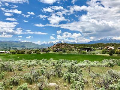Tuhaye, Red Ledges Residential Lots & Land For Sale: 2900 E Brown Duck Mountain Cir (Lot 1