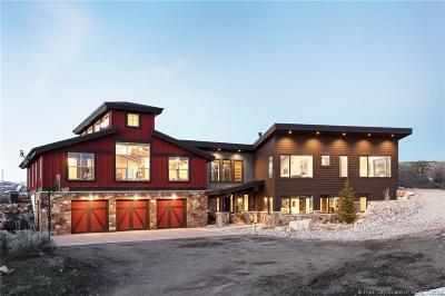Park City Single Family Home For Sale: 989 E Tollgate Road