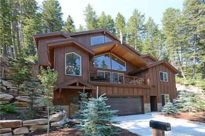 Park City Single Family Home For Sale: 455 Upper Evergreen