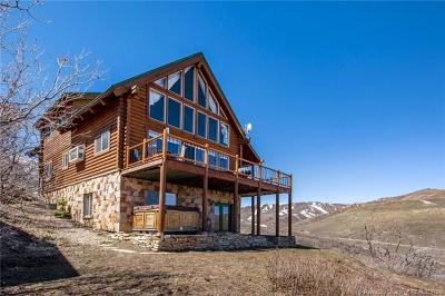 Wanship, Hoytsville, Coalville, Echo, Henefer Single Family Home For Sale: 4100 S Rockport Aspen Circle