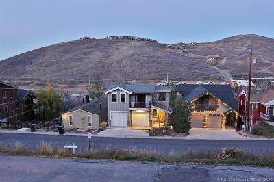 Park City Single Family Home For Sale: 1061 Lowell Avenue