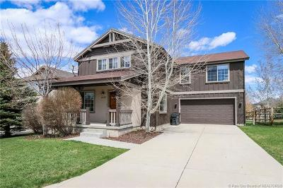 Park City Single Family Home For Sale: 1237 E Foxcrest Drive