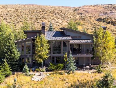 Park City Single Family Home For Sale: 3402 Westview Trail