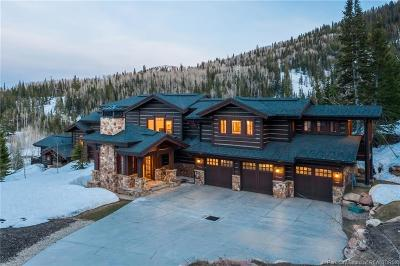 Park City Single Family Home For Sale: 76 White Pine Canyon Road