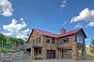 Wanship, Hoytsville, Coalville, Echo, Henefer Single Family Home For Sale: 1784 Kent Canyon Drive