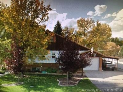 Heber City Single Family Home For Sale: 55 N 500 East