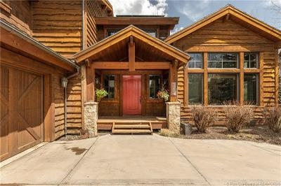 Park City Single Family Home For Sale: 1224 Cottonwood Lane