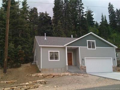 Park City Single Family Home For Sale: 320 Aspen Drive