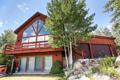 Park City Single Family Home For Sale: 7381 Buckboard Drive