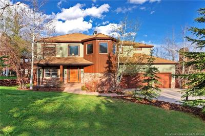 Park City Single Family Home For Sale: 8886 Saddleback Road