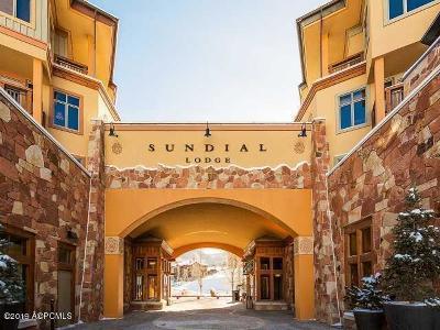 Park City Single Family Home For Sale: 3720 N Sundial Court #C313