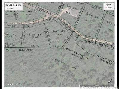 Oakley, Peoa Residential Lots & Land For Sale: 4498 E Weber Canyon Rd