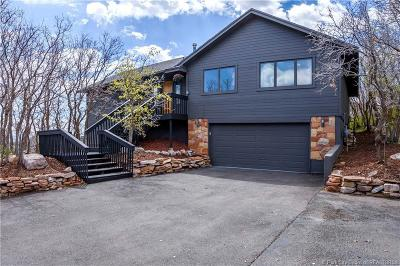 Park City Single Family Home For Sale: 7389 Buckboard
