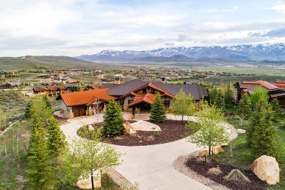 Park City Single Family Home For Sale: 8156 N Ranch Club Trail
