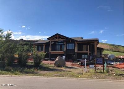 Heber City Single Family Home For Sale: 202 W Vista Ridge Road