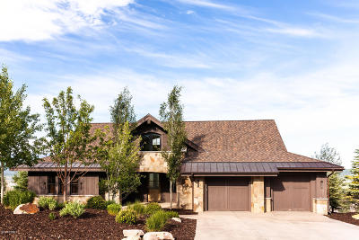 Park City Single Family Home For Sale: 9079 Dye Cabins Drive