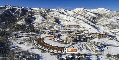 Park City Condo/Townhouse For Sale: 3575 Ridgeline Drive #3