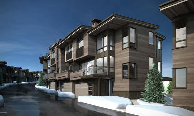 Park City Condo/Townhouse For Sale: 3569 Ridgeline Drive #3