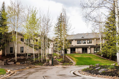 Park City Condo/Townhouse For Sale: 1578 N Deer Valley Drive