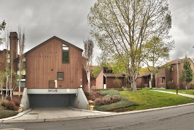Park City Condo/Townhouse For Sale: 1420 Three Kings Drive