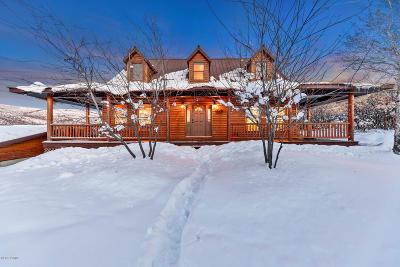 Heber City Single Family Home For Sale: 1611 Cedar Bark Lane