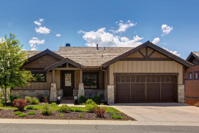 Heber City Single Family Home For Sale: 1830 E Kings Peak Cir (Lot Cp-4)