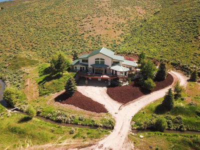Kamas And Marion Area Single Family Home For Sale: 595 S Foothill Drive