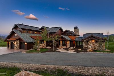 Park City Single Family Home For Sale: 9664 N Red Hawk Trail