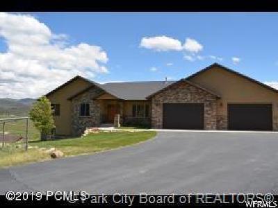 Wanship, Hoytsville, Coalville, Echo, Henefer Single Family Home For Sale: 316 Fox Run Hollow