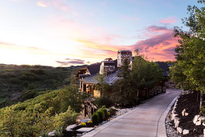 Park City Single Family Home For Sale: 8435 N Ranch Garden Road