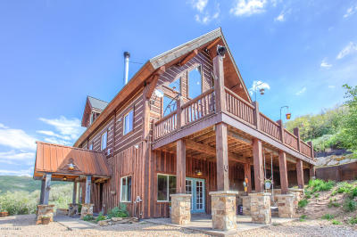 Wanship, Hoytsville, Coalville, Echo, Henefer Single Family Home For Sale: 177 W Tollgate Canyon Road
