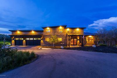 Park City Single Family Home For Sale: 1682 E Oakridge Road